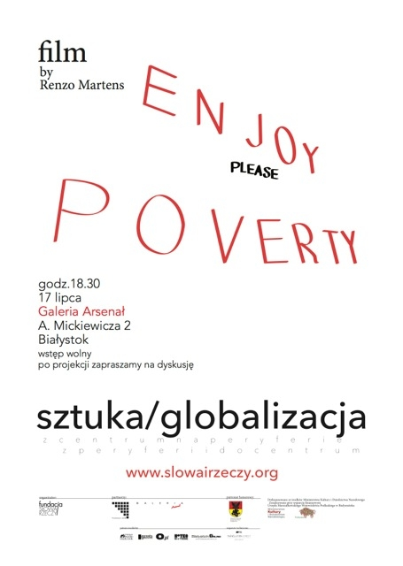 plakat enjoy poverty final 2